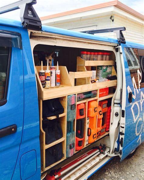work van layout ideas мобильная мастерская в фургоне или авто мастерская мечты