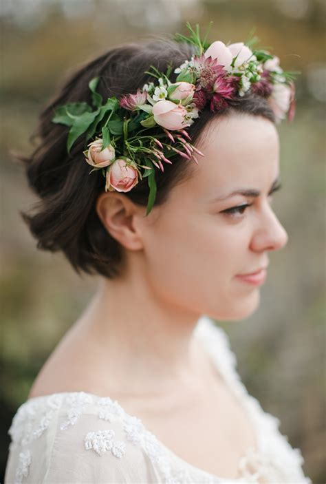 Budroses Flower Crown bridal flower crown with by the nouveau romantics