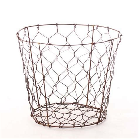 Wire Planters by Chicken Wire Planter Decorative Accents