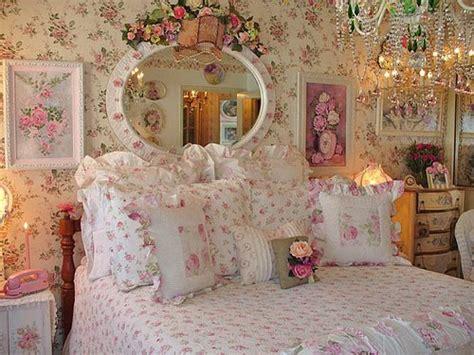 vintage rose bedroom ideas decoracion shabby chic