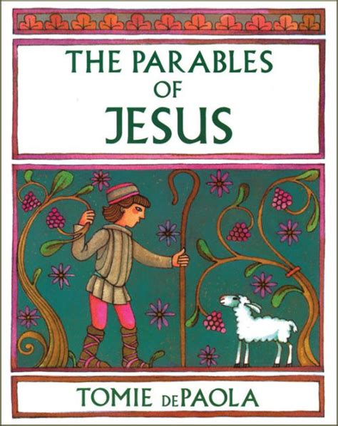 libro parables the mysteries of the parables of jesus by tomie depaola tomie de paola paperback barnes noble 174