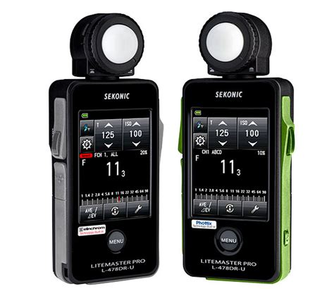 sekonic litemaster pro light meter sekonic introduces litemaster pro light meters for