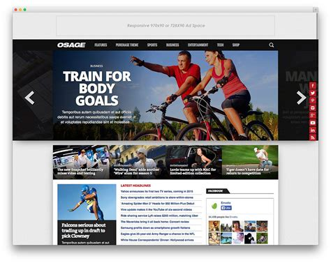 themes wordpress free sport best wordpress sports themes for magazines and sports