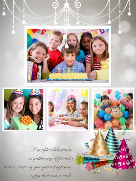 free birthday collage template birthday collage maker make happy birthday photo collage