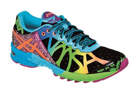 bright colored womens running shoes asics s gel noosa tri 9 running shoe black neon