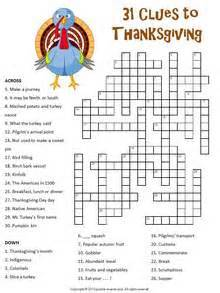 printable thanksgiving crossword puzzles 12 thanksgiving puzzle packet
