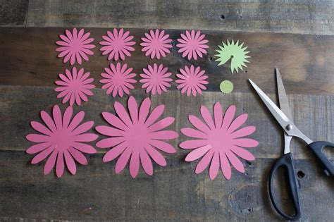 How To Make Paper Daisies - make your own paper gerbera daisies 183 how to make a paper