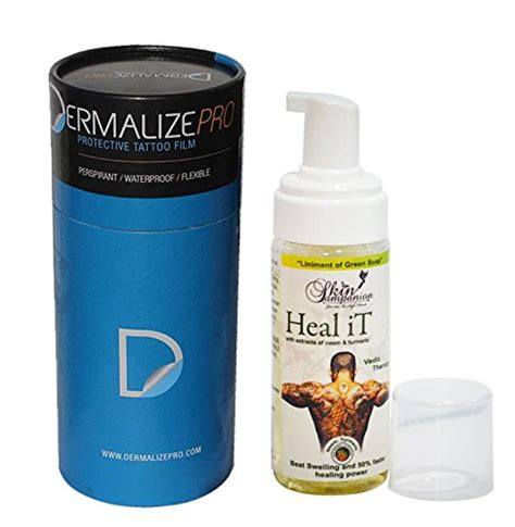 tattoo healing dermalize dermalize protective breathable tattoo film after care
