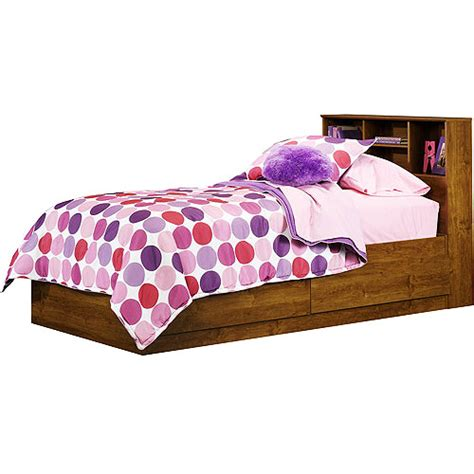 Walmart Bed by Mainstays Storage Bed Alder Walmart
