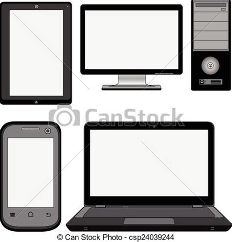 Different Style Of Sofa Eps Vector Of Modern Computers Four Different Types Of