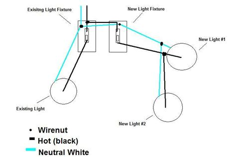 howto adding two exterior lights switch piggyback new switch