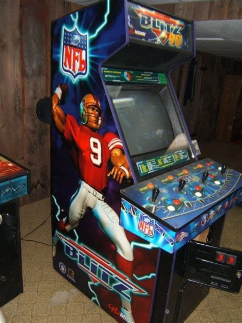 Nfl Blitz Arcade Cabinet by 17 Best Images About Bill S Arcade On Pinball