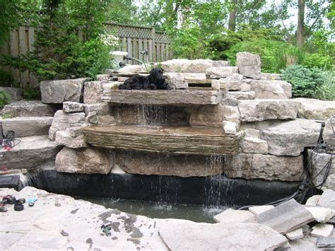 how build koi pond pond construction tips
