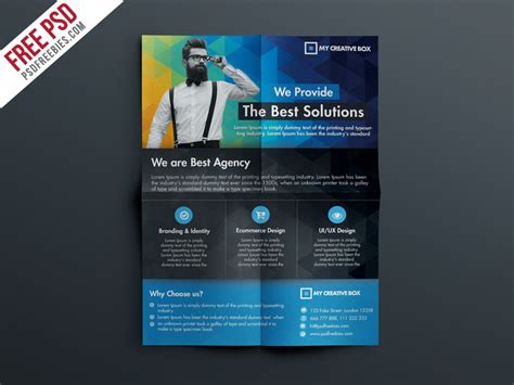 free psd business flyer templates free multipurpose corporate flyer template psd