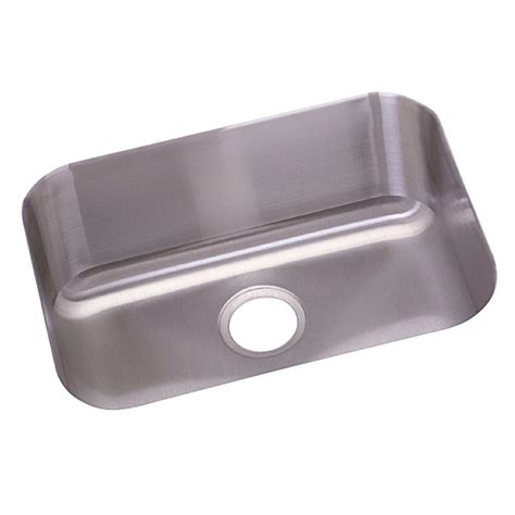 Stainless Steel Undermount Kitchen Sink Elkay Crosstown Undermount Stainless Steel 44 In Single Bowl Kitchen Sink Efu411510db The