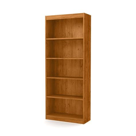 South Shore 5 Shelf Bookcase South Shore Axess 5 Shelf Bookcase In Country Pine 10132