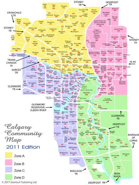 Basement Walkout by Calgary Mls 174 Zone Map