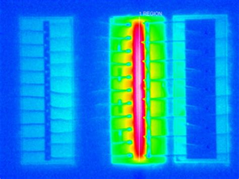 laser diode thermal model thermal imaging microscope applications