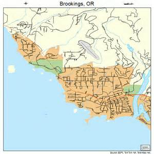 map brookings oregon brookings oregon map 4108650