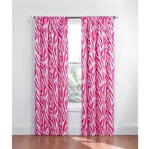 Pink And Black Curtains Inspiration Pink And Black Zebra Curtains Quotes