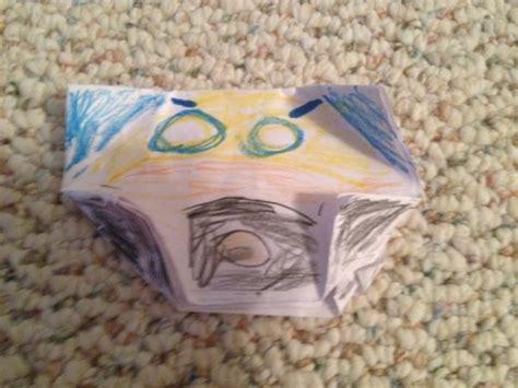 Origami Wolverine - oragami wolverine origami yoda