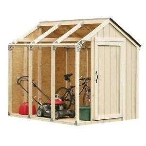 shed framing kit outdoor garage barn garden storage