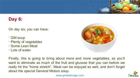 General Motors 7 Day Detox by 7 Days Gm Diet Meal Plan
