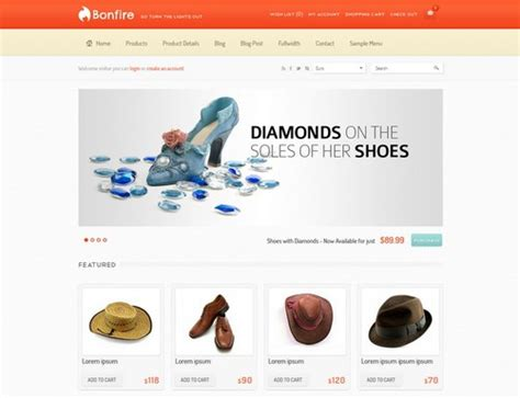 design templates for ecommerce website 27 free and premium ecommerce wordpress themes for your