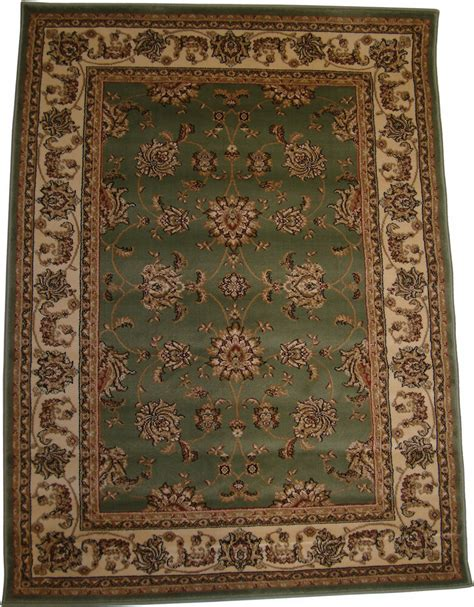green traditional rug living room rugs