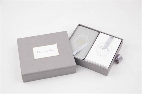 Dior Gift Card - christian dior vintage 2 decks french playing cards w box for sale at 1stdibs
