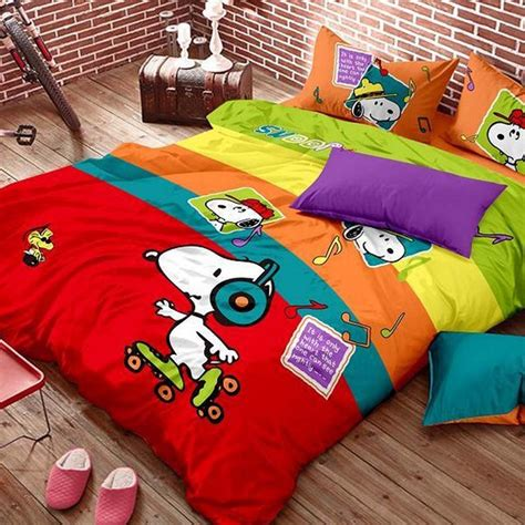 peanuts bedding snoopy bedding
