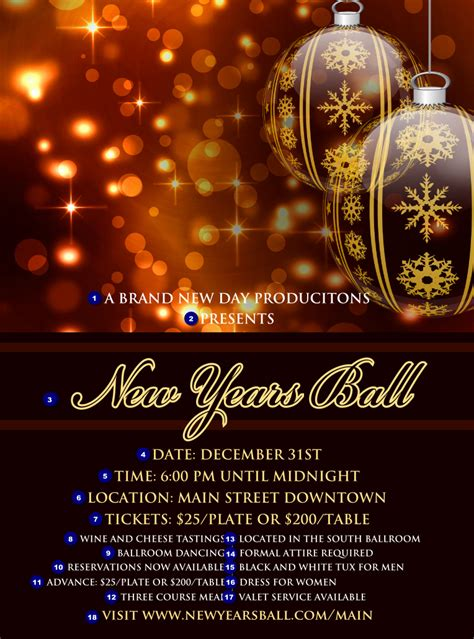 golden ornament flyer ticketprinting com