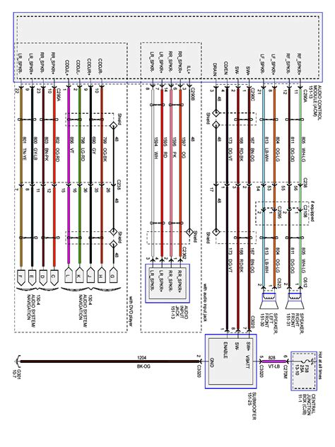 2004 ford ranger stereo wiring diagram wiring diagram