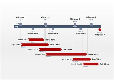 project timeline template   word  format
