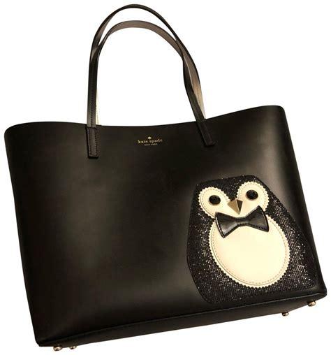 Kate Spade Clifton Penguin Crossbody kate spade black leather pvc penguin clifton tote tradesy