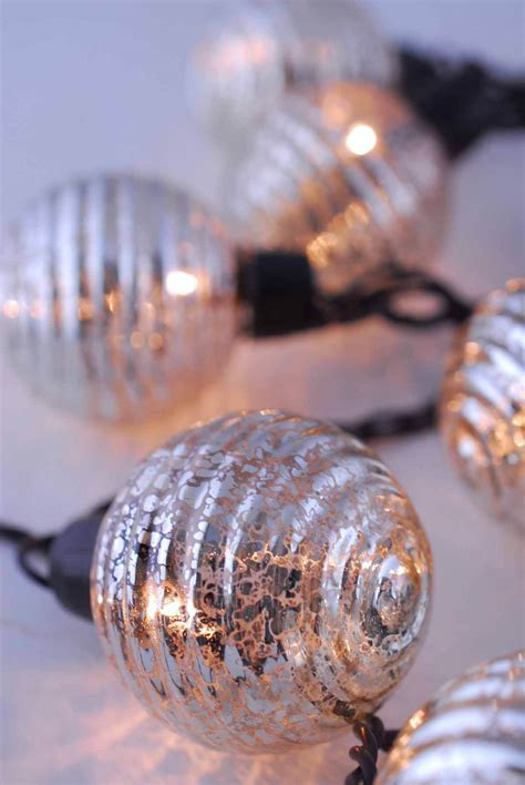 mercury glass globes with lights globe lights mercury glass string light end to end 6ft