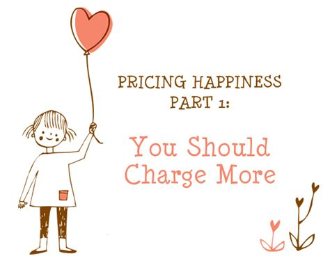 Oh My Handmade - pricing happiness part 1 you should charge more oh my