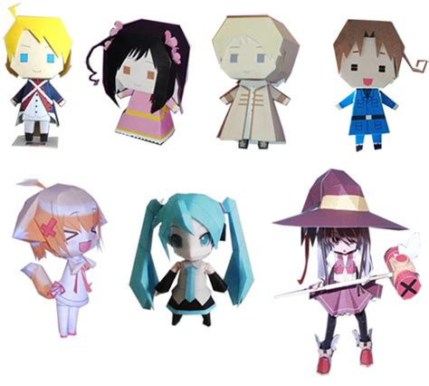 Anime Paper Crafts - paper craft is coming by cosplayfu on deviantart
