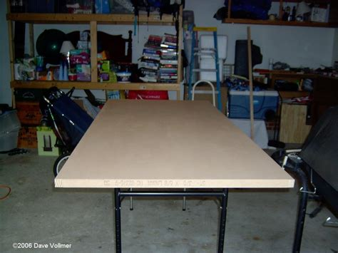 hollow door table hollow door workbench my outfeed and right extension