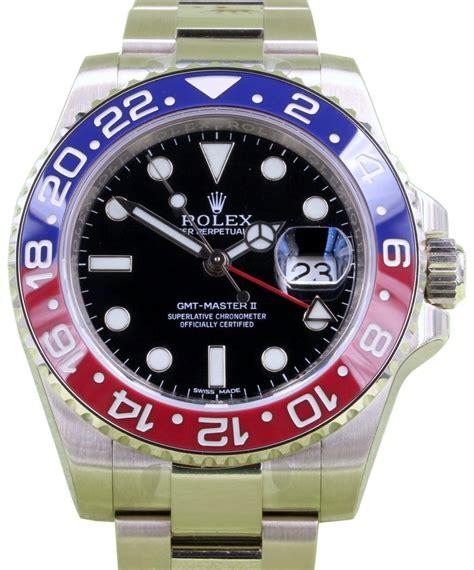 Jam Replika Rolex Gmt Master Ll All Gold Steel Black Swiss Eta 11 rolex gmt master 2 price south africa