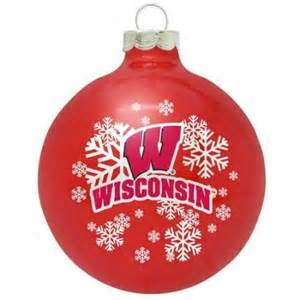 university of wisconsin badgers small painted round