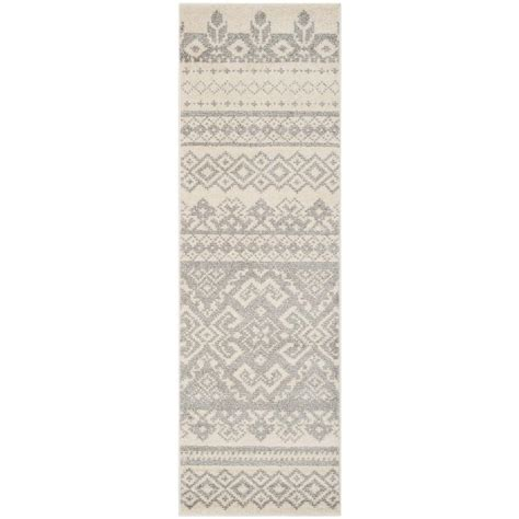safavieh adirondack ivory silver 2 ft 6 in x 8 ft