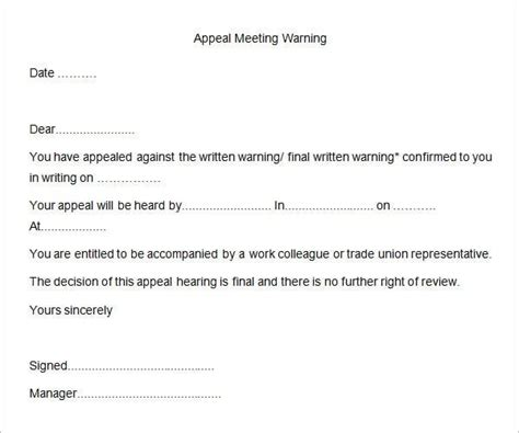 hr warning letters apple pages