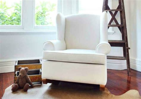 rock the away in the nursery with our rocking chair