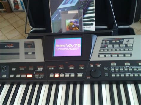 Keyboard Roland Va 76 roland va 76 image 868043 audiofanzine