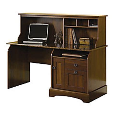sauder graham ridge computer desk sauder graham ridge computer desk with hutch european oak