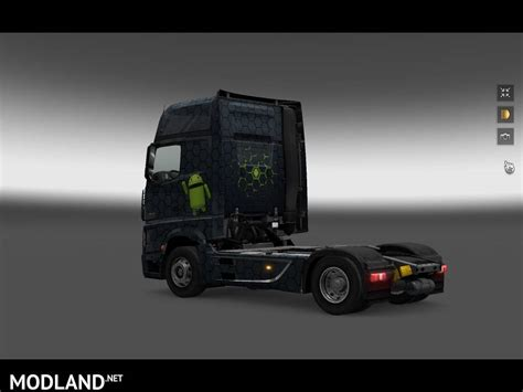 euro truck simulator free download full version android android skin mercedes mp4 mod for ets 2
