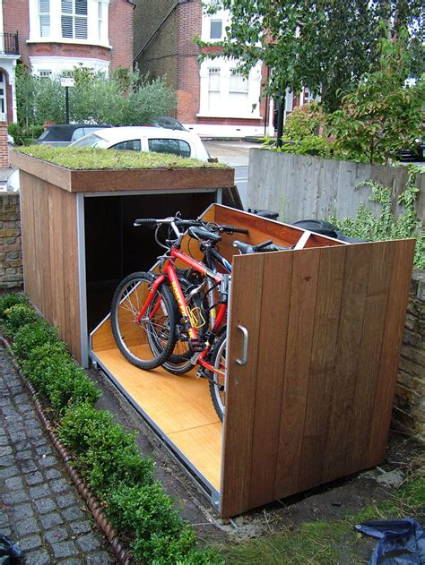 Bicycle Garage by Upgrading Bike Storage Possibilities Modern Outdoor Bike