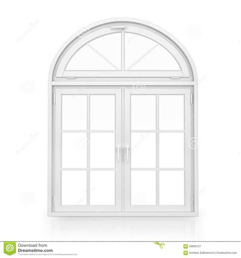 Home Inside Arch Model Design Image by Windows Plastic Arch Window Stock Illustration Image
