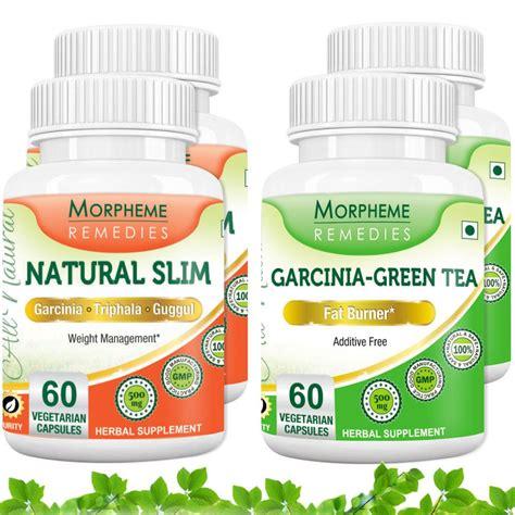 Herbal Slim morpheme garcinia cambogia green tea slim supplement for weight loss 4 bottles